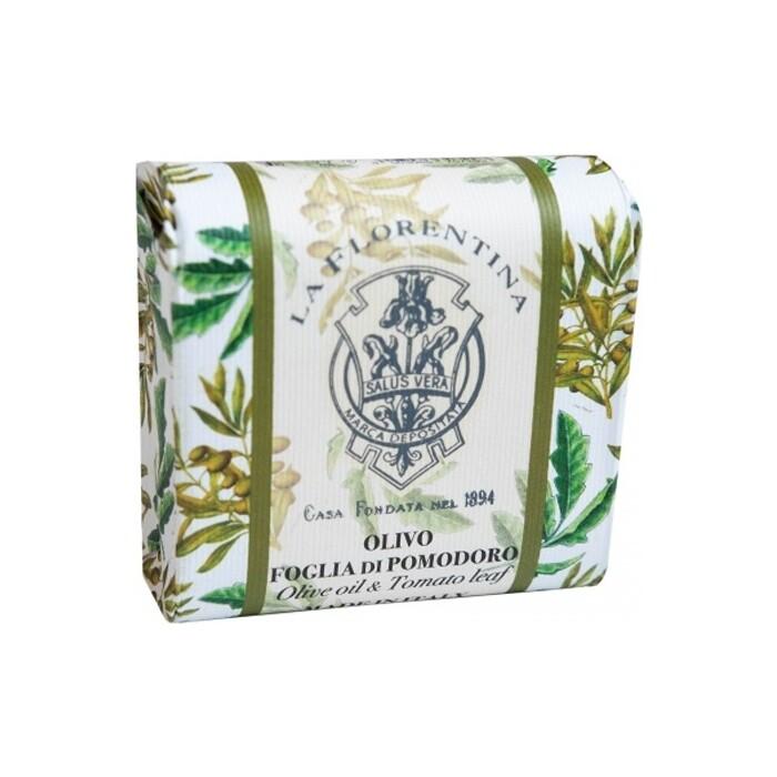 Мыло La Florentina Фруктовые Сады Olive Oil & Tomato Leaf / Оливковое Масло и Лист Томата 106 г