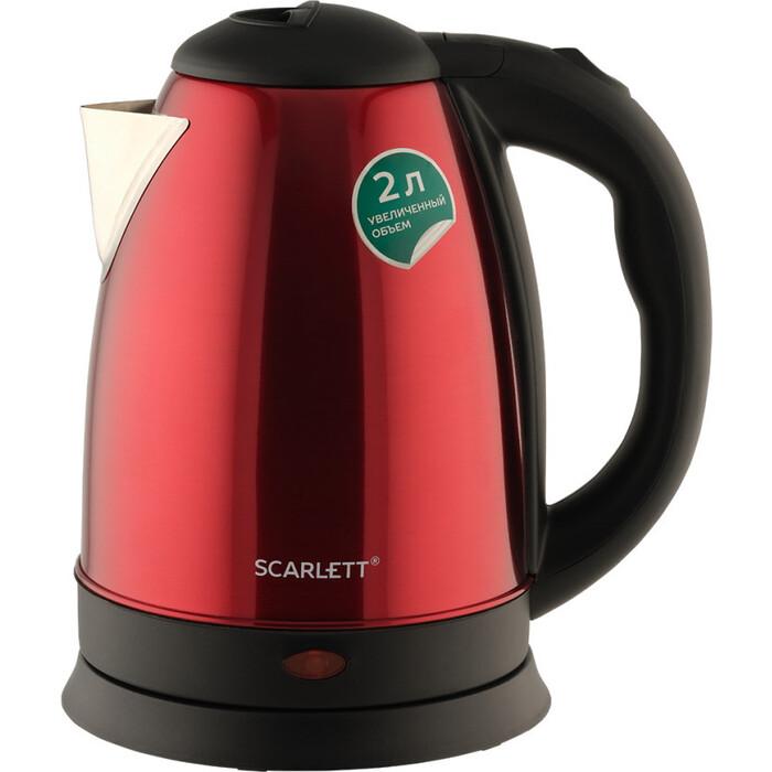 Фото - Электрический чайник Scarlett SC-EK21S76 красный чайник электрический scarlett sc ek21s93