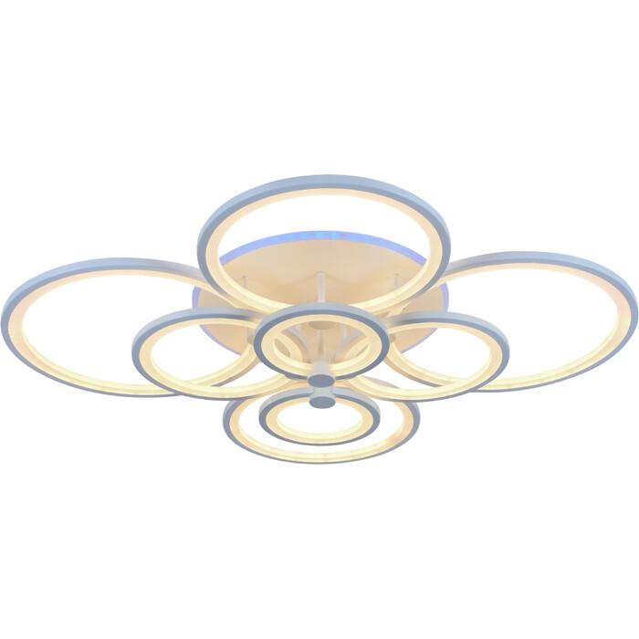 Люстра Profit Light Светодиодная 8077/8 WHT 256W+11W RGB