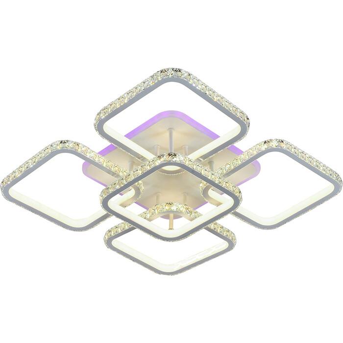 Люстра Profit Light Светодиодная 8010/4+1 WHT 320W+8W RGB