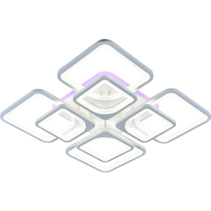Люстра Profit Light Светодиодная 8057/4+4 WHT 224W+10W RGB
