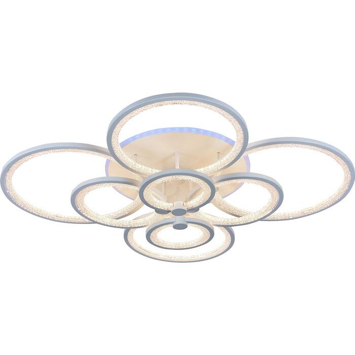 Люстра Profit Light Светодиодная 8002/8 WHT 256W+11W RGB