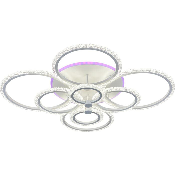 Люстра Profit Light Светодиодная 18027/8 WHT 212W+15W RGB