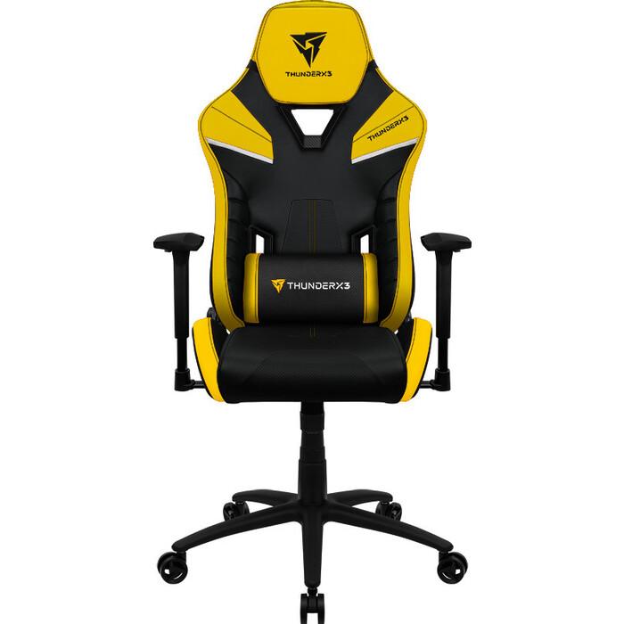 Кресло компьютерное игровое ThunderX3 TC5 Bumblebee Yellow