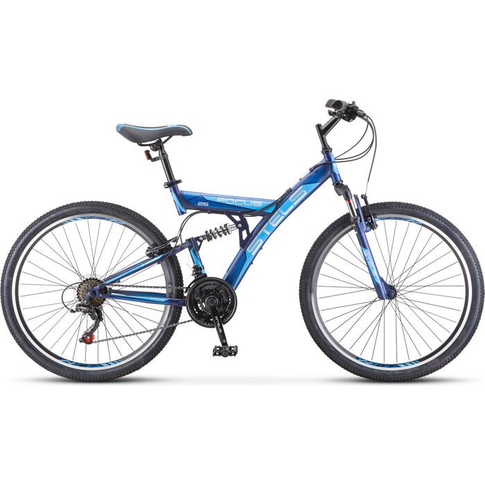 Велосипед Stels Focus V 26 18-sp V030 18 Тёмно-синий/синий