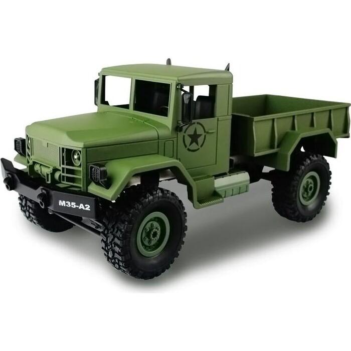 Радиоуправляемая машина MN MODEL военный грузовик (камуфляж) 4WD 2.4G 1/16 RTR - MN-35C