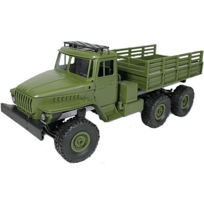 Радиоуправляемая машина MN MODEL советский военный грузовик PRO 6WD 2.4G 1/16 RTR - MN-88S