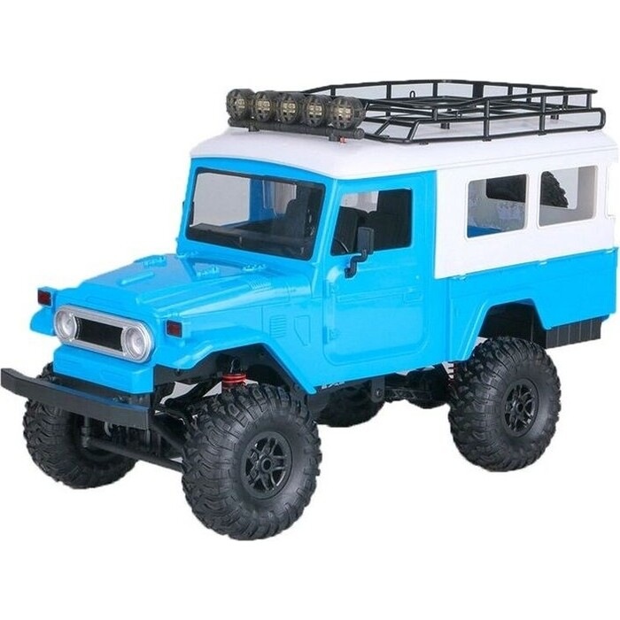Радиоуправляемая машина MN MODEL японский внедорожник FJ45 (синий) 4WD 2.4G 1/12 RTR - MN-40B