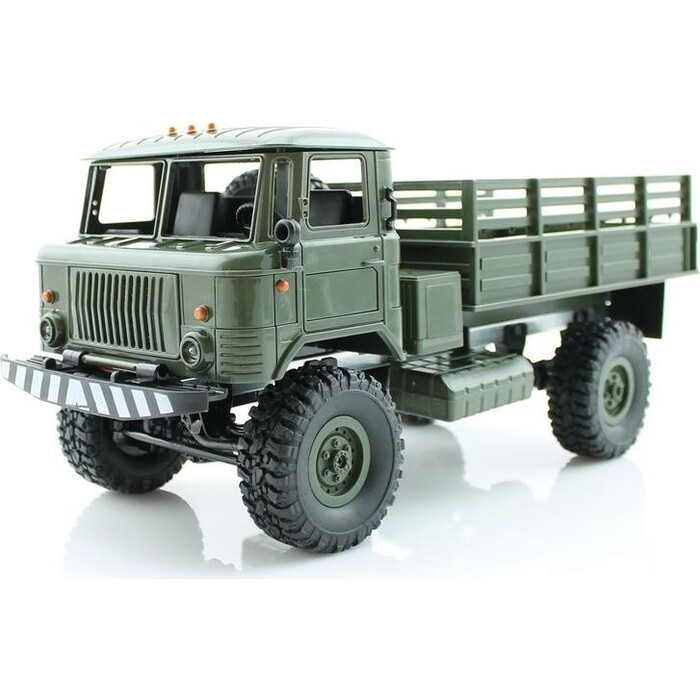 Радиоуправляемая машина WPL ГАЗ-66 грузовая (зеленая) 4WD 2.4G 1/16 KIT - B-24KM-G