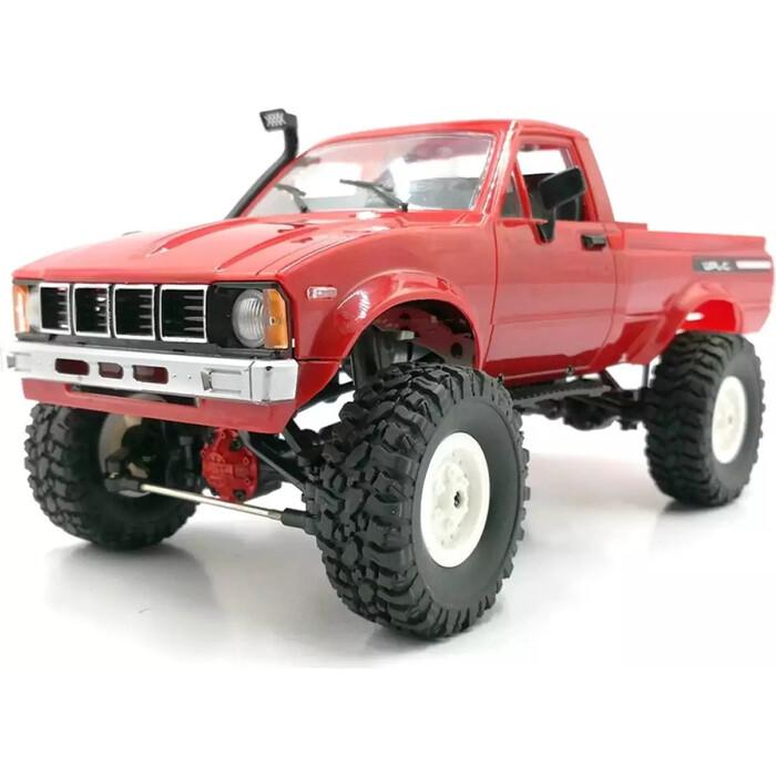 Радиоуправляемая машина WPL пикап Hilux (красная) 4WD 2.4G 1/16 KIT - C-24KM-RED