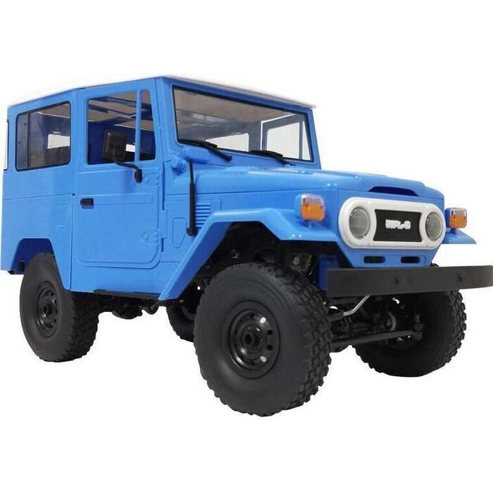 Радиоуправляемая машина WPL японский внедорожник FJ40 (голубая) 4WD 2.4G 1/16 RTR - C-34-B