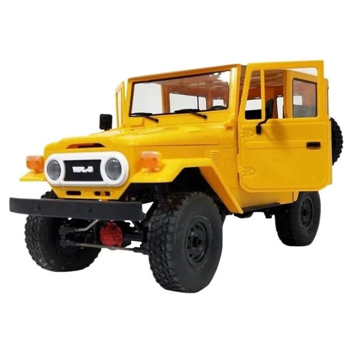 Радиоуправляемая машина WPL японский внедорожник FJ40 (желтая) 4WD 2.4G 1/16 KIT - C-34KM-Y