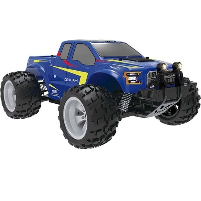 Радиоуправляемый краулер Double Eagle монстр Ford F-150 Raptor (синий) 1:18 4WD 2.4G RTR - E325-003-BLUE