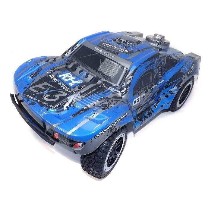 Радиоуправляемый краулер Remo Hobby шорт-корс, EX3 (синий) 4WD 2.4G, 1:10 RTR - RH10EX3PRO-BLUE