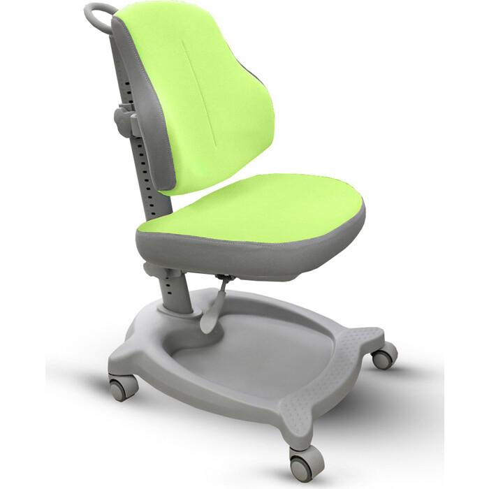 Кресло детское Mealux ErgoKids GT Y-402 KZ ortopedic обивка зеленая однотонная