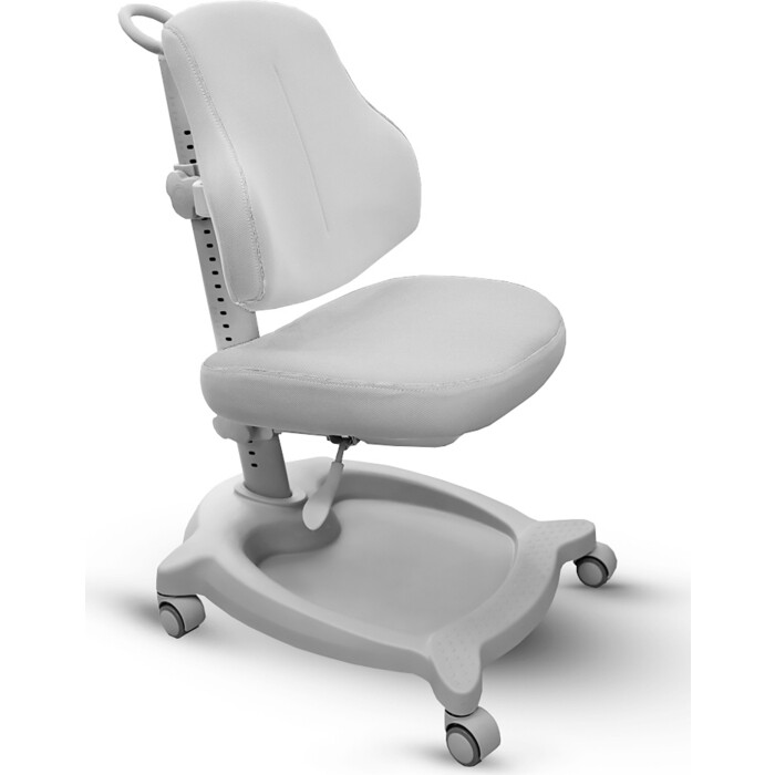 Кресло детское Mealux ErgoKids GT Y-402 G ortopedic обивка серая однотонная