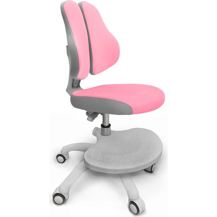 Кресло детское Mealux ErgoKids GT Y-409 KP ortopedic обивка розовая однотонна
