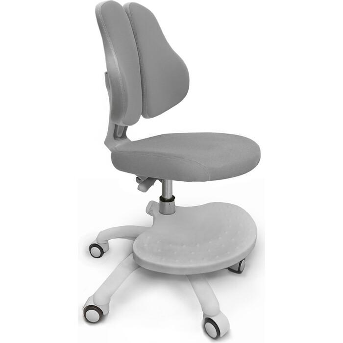 Кресло детское Mealux ErgoKids GT Y-409 G ortopedic обивка серая однотонная