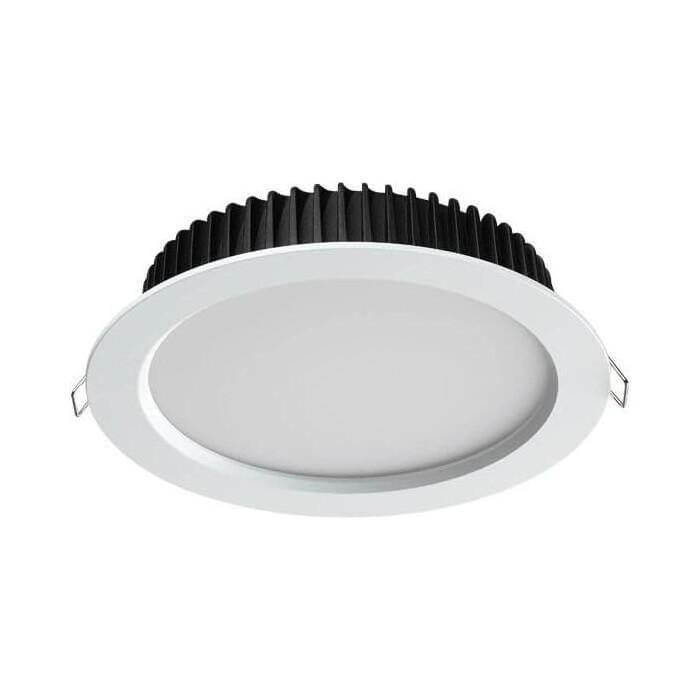 Встраиваемый светодиодный светильник Novotech Drum 358302
