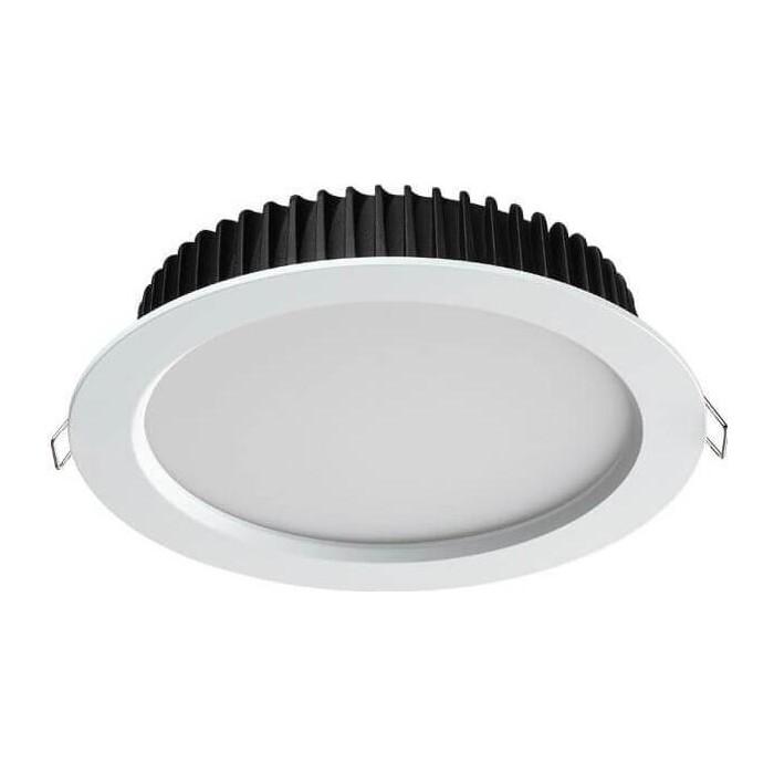 Встраиваемый светодиодный светильник Novotech Drum 358304
