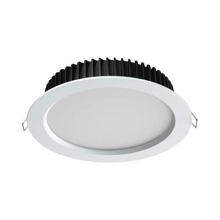 Встраиваемый светодиодный светильник Novotech Drum 358310