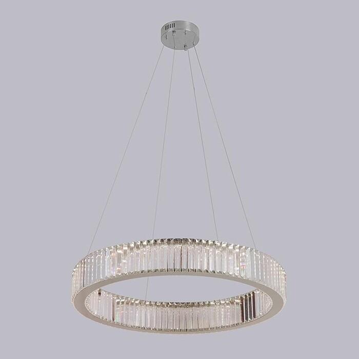 Светильник Newport Подвесной светодиодный 8442/S chrome M0062802 delight collection подвесной светильник volver chrome 5