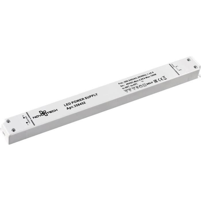 Драйвер Novotech Flum 48V 100W IP20 2,08A 358452