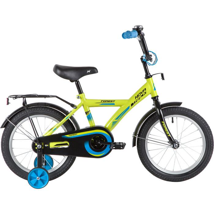 Велосипед NOVATRACK FOREST 16 (2020) зеленый one size