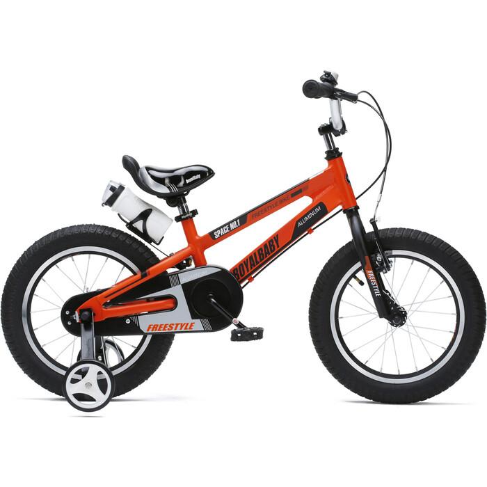Велосипед Royal Baby Freestyle Space №1 14 (2020) оранжевый one size