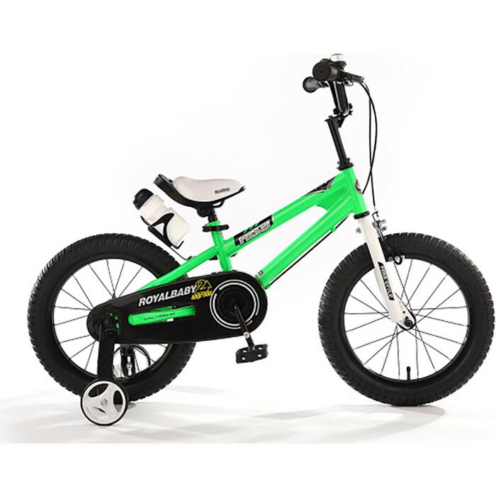 Велосипед Royal Baby Freestyle Steel 14 (2020) зеленый one size