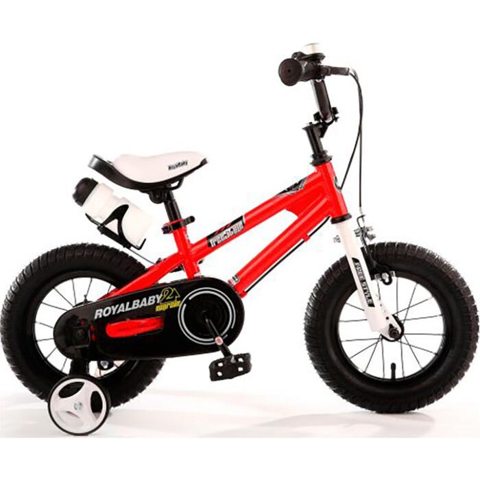 Велосипед Royal Baby Freestyle Steel 14 (2020) красный one size