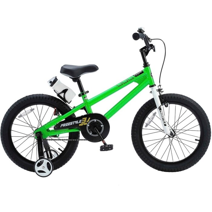 Велосипед Royal Baby Freestyle Steel 18 (2020) зеленый one size