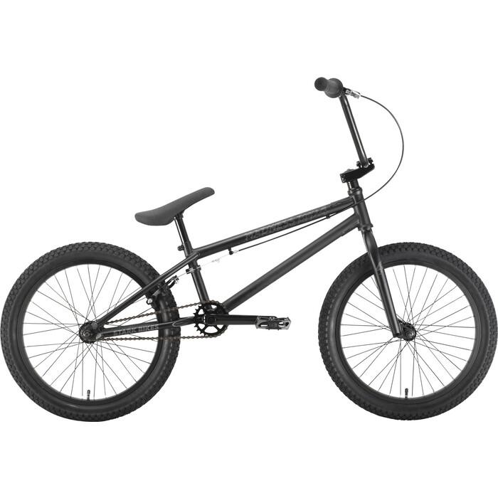 Велосипед Stark Madness BMX 4 (2021) чёрный/радужный one size