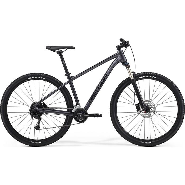 Фото - Велосипед Merida Big.Nine 100-2x (2021) антрацитовый M велосипед merida ride cf team 2014