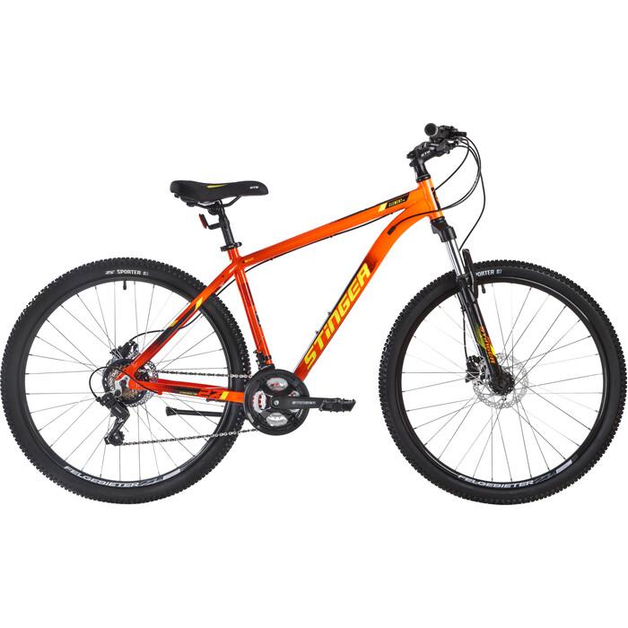 Велосипед Stinger 27.5 Element Pro красный 18