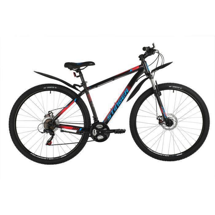 Велосипед Stinger 29 Caiman D (2021) черный 20