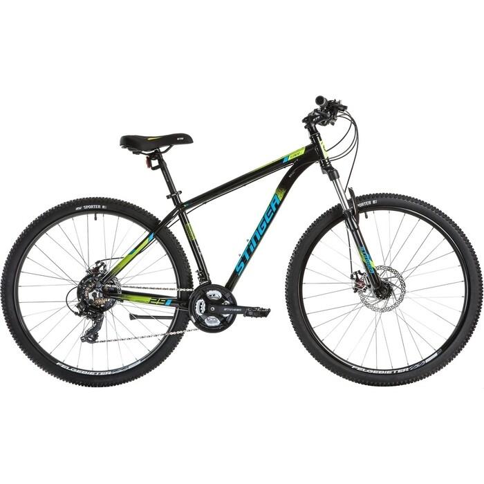 Велосипед Stinger Element EVO 29 (2021) черный 18