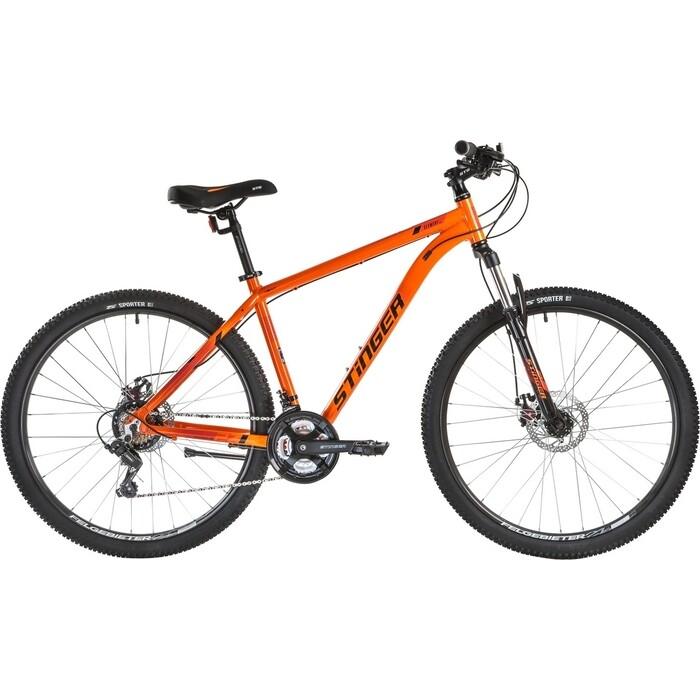 Велосипед Stinger Element Evo 27.5 (2021) оранжевый 18