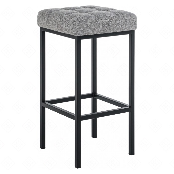 Барный стул Woodville Лофт рогожка графит/черный матовый барный стул woodville orion черный