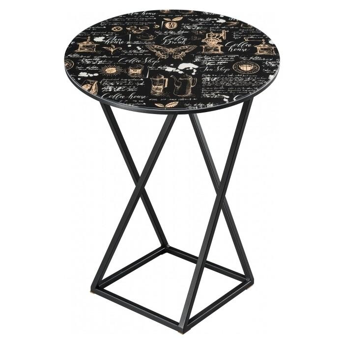 Журнальный столик Woodville Аданна кофе