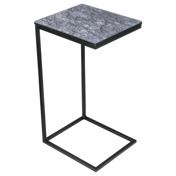 Журнальный столик Woodville Геркулес серый мрамор