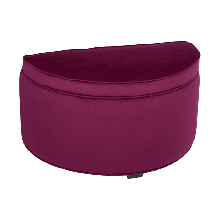 Банкетка Мебельстория Луна П фиолетовый велюр