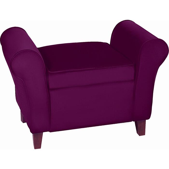 Банкетка Мебельстория Октавия-2 фиолетовый велюр