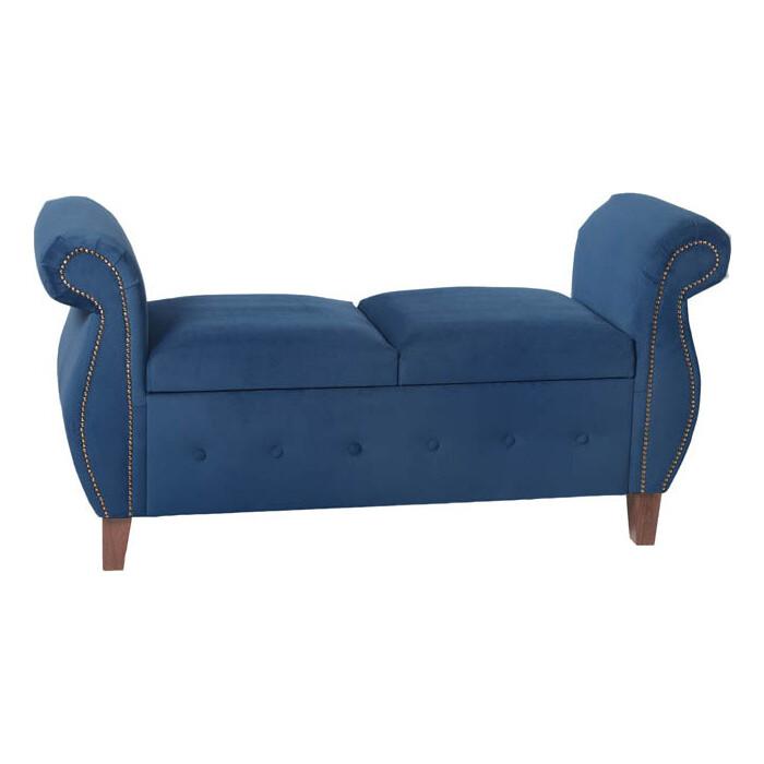Фото - Банкетка Мебельстория Серра-1Т синий велюр банкетка мебельстория серра 1т бежевый велюр