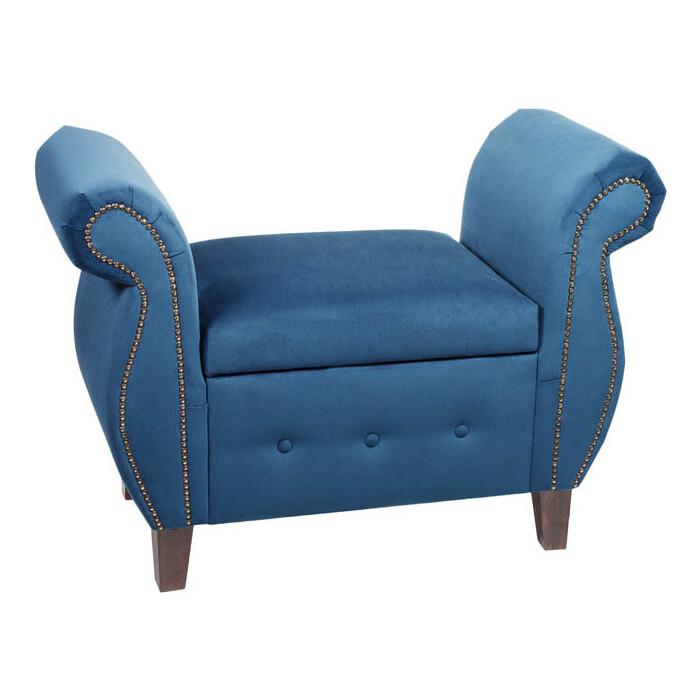 Фото - Банкетка Мебельстория Серра-2Т синий велюр банкетка мебельстория серра 1т бежевый велюр