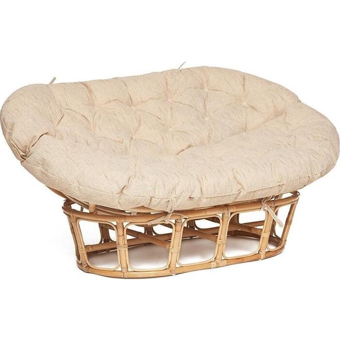 Кресло TetChair Mamasan eco M119/23-02 SP с подушкой, ремешками Natural (натуральный)