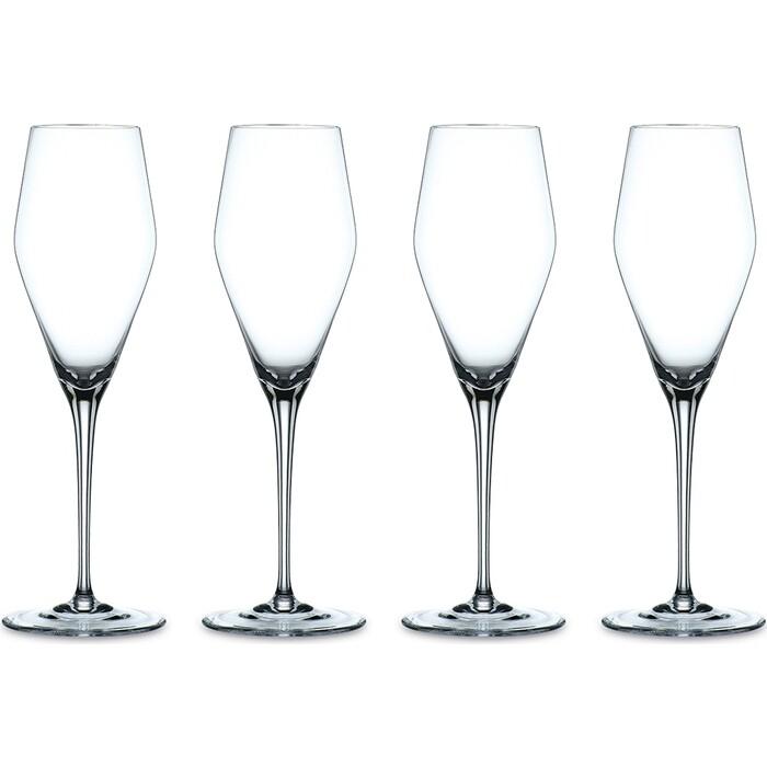 Набор фужеров Nachtmann 4 предмета для шампанского 280 мл (98075) набор фужеров nachtmann 2 предмета bordeaux 98062