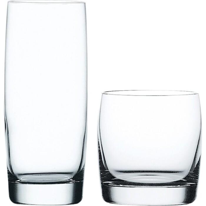 Фото - Набор стаканов Nachtmann 12 предмета 6 высоких 410 мл+ 6 низких 315 мл (90091) набор высоких стаканов nachtmann 4 предмета 445 мл 101049