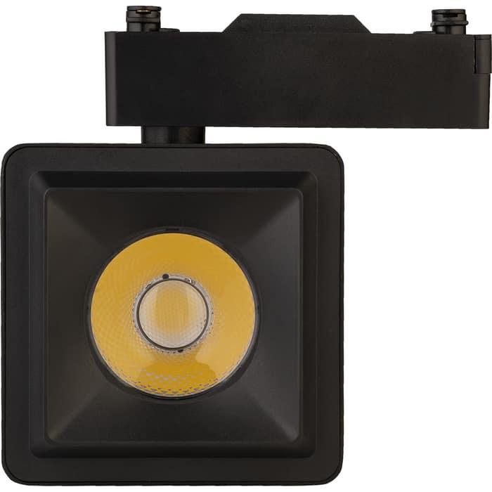 Светильник IMAGE 20W на однофазный трек 220V, LED 4200K, КВАДРАТНЫЙ, Черный (IL.TRL-20-Q.BK)