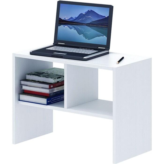 Журнальный столик Мастер Арто-27 белый МСТ-СЖА-27-БТ-16